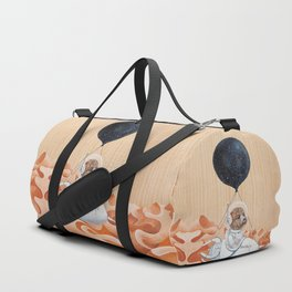 Poodle dog - Mission to Mars - Spacex - Space dog Duffle Bag