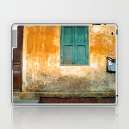 Antique Chinese Wall of Hoi An Laptop & iPad Skin