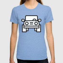 Jeep 4x4 Car Icon (Front-View) T-shirt