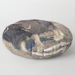 Arctic Muskox Floor Pillow