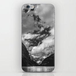 Lake Louise Black and White Minimalism Photography | Black and White | Photography iPhone Skin