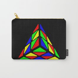 Pyraminx cude painting01 Carry-All Pouch