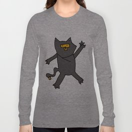 Ninja Kitty Long Sleeve T-shirt