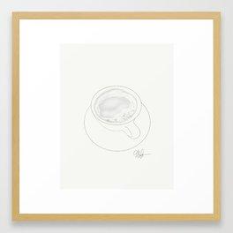 Café au Lait Framed Art Print
