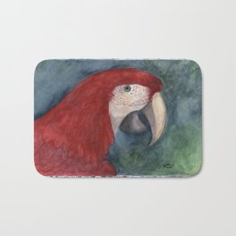 Red Macaw Bath Mat