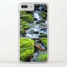Downstream Clear iPhone Case