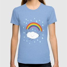rainbow parachute T-shirt
