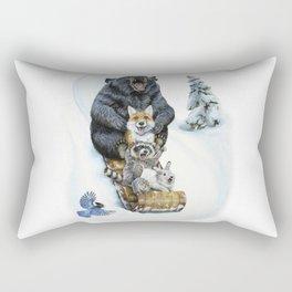 The Big Hill Rectangular Pillow