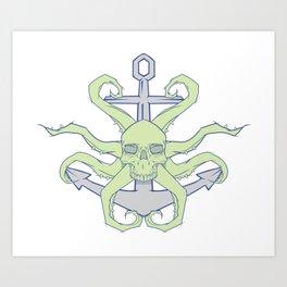 From below symbol Art Print