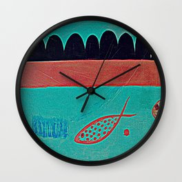 In the clouds part one, digitized Wall Clock
