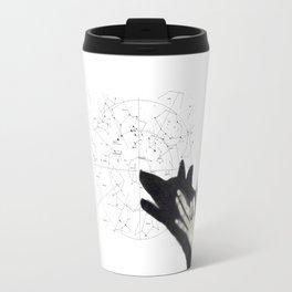 Howling at cosmos Travel Mug