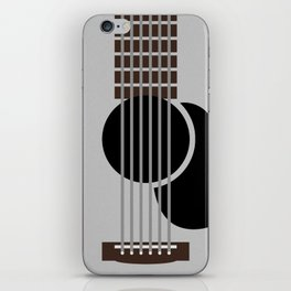 Minimalist Guitar iPhone Skin
