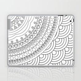 Ornate mandala Laptop & iPad Skin