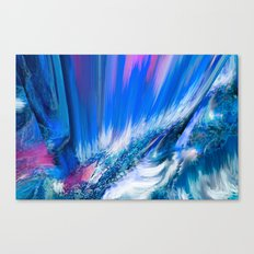 Rapture In Blue   Abstract Canvas Print