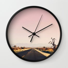 southwestern desert photo Wall Clock