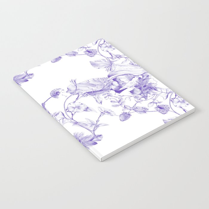 Jeweled Botanist Notebook