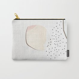 Minimalist Watercolor Collage Detail I Carry-All Pouch