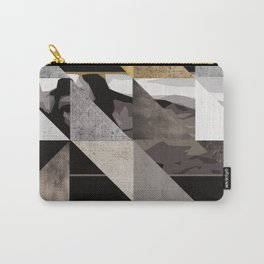 u2's the joshua tree triangles Carry-All Pouch