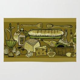 My Mid-Century Kitchen Rug