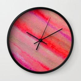 Lines IIII Wall Clock