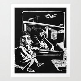 Skanstullsbron Art Print