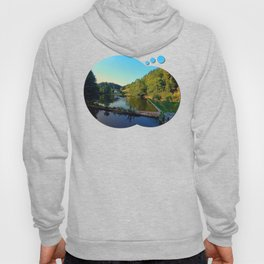 A summer evening along the river | waterscape photography Hoody