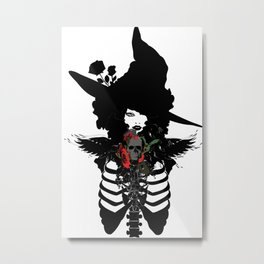 Sexy witch Metal Print