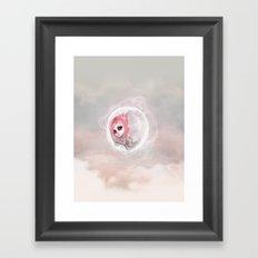 Dreaming Sometimes Framed Art Print