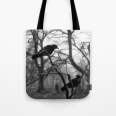 Graveyard Birds Tote Bag