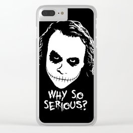 MAKE THIS OCTOBER AND HALLOWEEN A SCREAM Clear iPhone Case