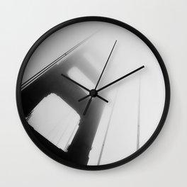 Fog Bridge Wall Clock