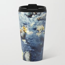 Autumn Leaves, Color Film Photo, Analog Travel Mug