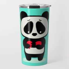 Sad Panda Travel Mug