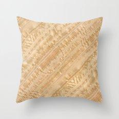 Eucalyptus Wood Throw Pillow