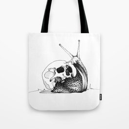 This Skull Is My Home Tote Bag