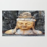 asian Area & Throw Rugs featuring ASIAN GODDESS by JANUARY FROST
