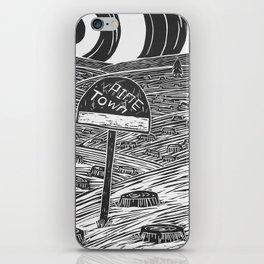 Pine Town iPhone Skin