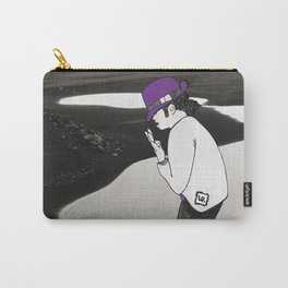 Moonwalking on the Moon Carry-All Pouch