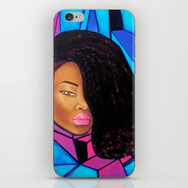 Cool - Afro Natural Hair Art iPhone Skin