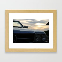 Oh Lord, wont'cha buy me a Mercedez Benz Framed Art Print
