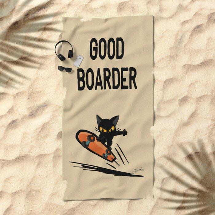 Boarder Beach Towel