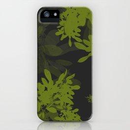 Minimal Leafs iPhone Case