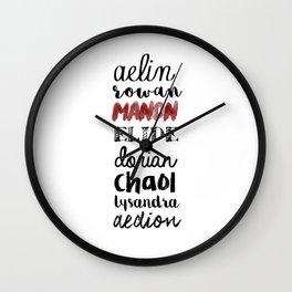 terrasen Wall Clock