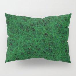 Emerald Green Thread Texture Pillow Sham