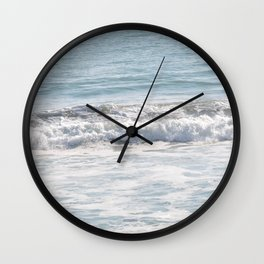 TEXTURES -- Surf   at San Clemente Wall Clock