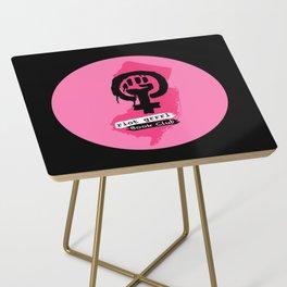 riot grrrl book club Side Table