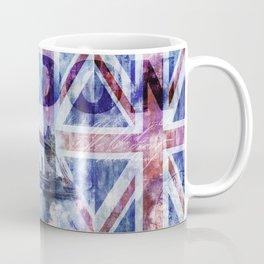 London Tower Bridge Mixed Media Art Coffee Mug
