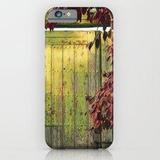 La portada verde y el otoño Slim Case iPhone 6s