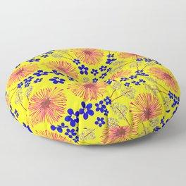 Wild Flowers Floor Pillow