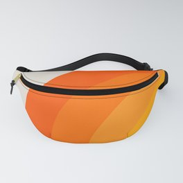 Sunrise Rainbow - Left Side Fanny Pack